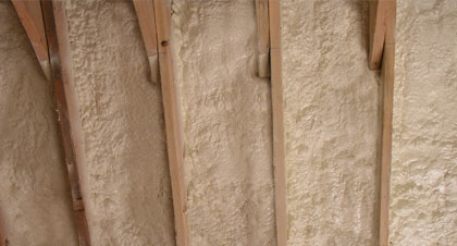 closed-cell spray foam for St Paul applications
